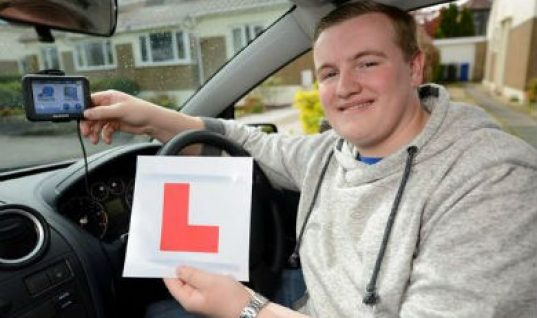 Teen becomes first to pass new 'satnav' driving test