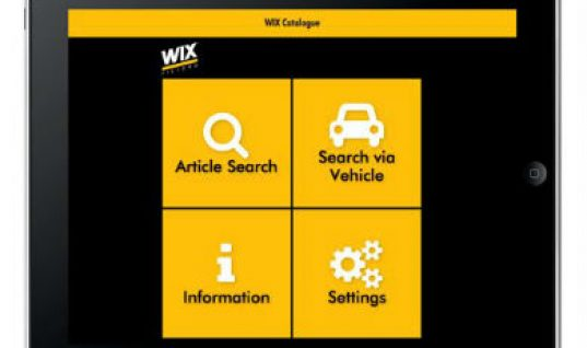 Tecalliance develops app for Wix Filtration