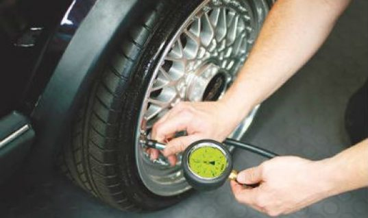 High quality tyre pressure gauge from Laser Tools
