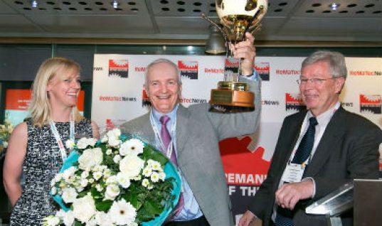 Elstock parent company wins top reman award
