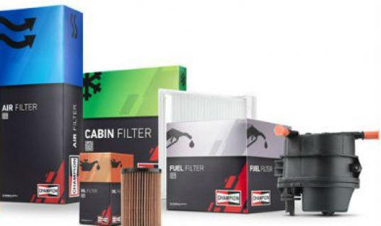 Federal-Mogul Motorparts re-launch Champion filter range