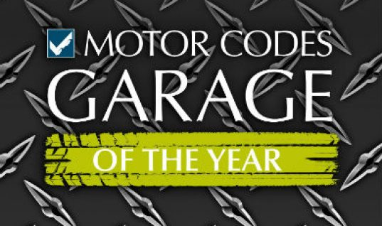 Motor Codes announces UK Garage of the Year