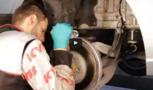 Video: Audi rear shock absorber and coil spring removal and fitment