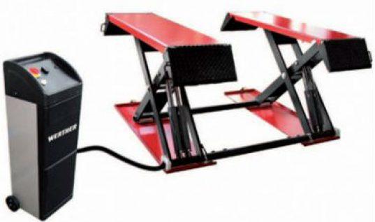3 tonne electro-hydraulic scissor lift gets REMA's recommendations