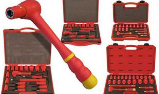 Laser Tools GS and VDE certificated insulated socket sets