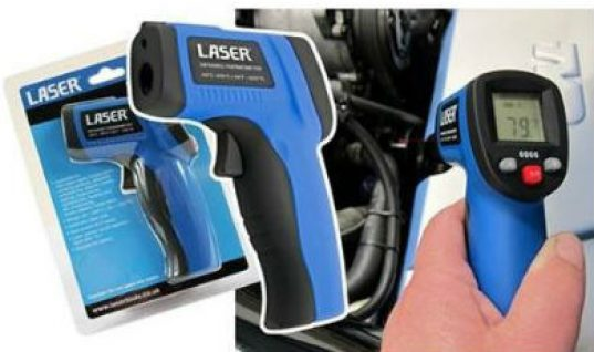 Infrared spot thermometer from Laser Tools
