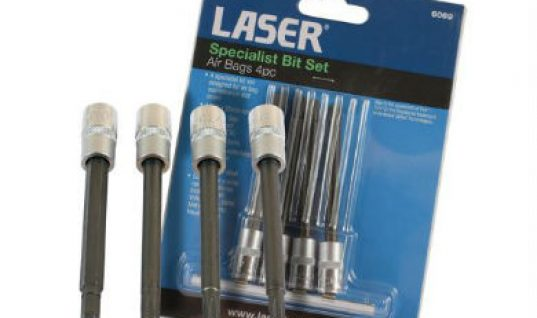 Laser tools specialist airbag removal bit set