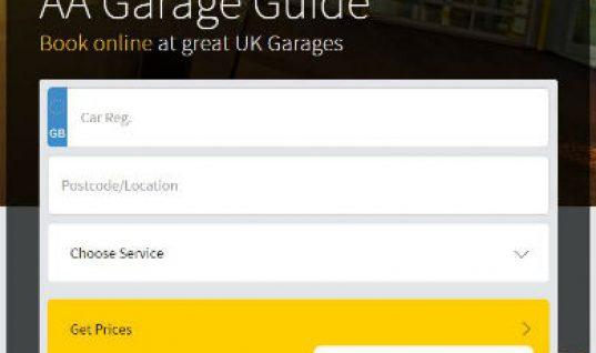 AA garage guide helps motorists find garages