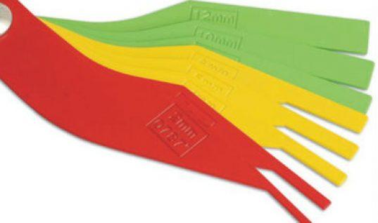 Five per cent off Prosol colour coded brake disc pad gauge