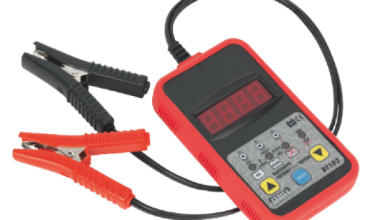 Sealey 12V digital battery and alternator tester from Clamp Co