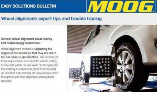 Federal-Mogul Motorparts publish wheel alignment guide