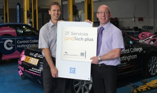 ZF [pro]Tech training a 'plus' for Central College Nottingham