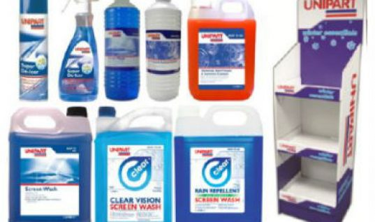 Profit with Unipart's winter chemical stock pack offer