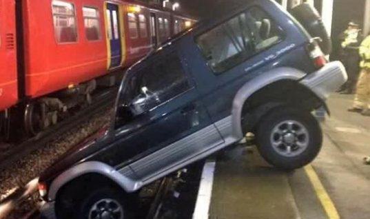 """Train services disrupted by """"obstruction on the line"""""""