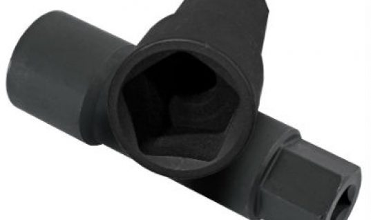 Pentagon socket for Lexus and Toyota SUV spare tyre release