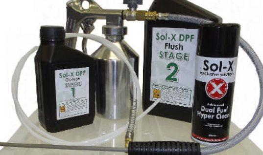 Ten per cent off Sol-X DPF cleaning kits