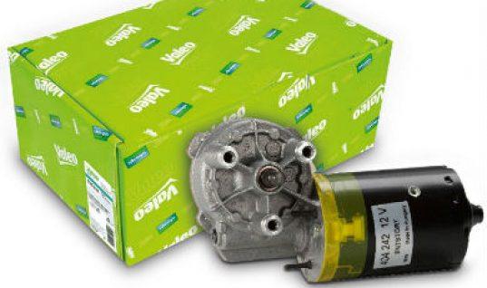 New wiper motors added to Valeo's expanding range