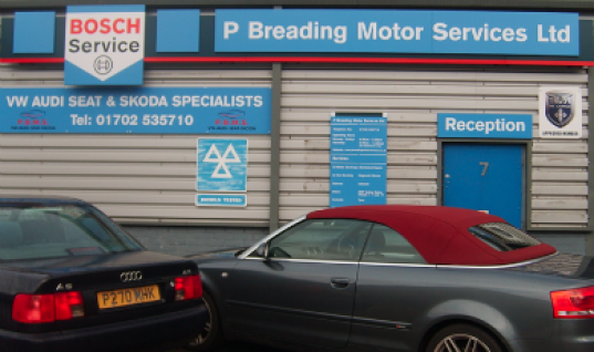 Bosch Car Service network welcomes P Breading Motor Services