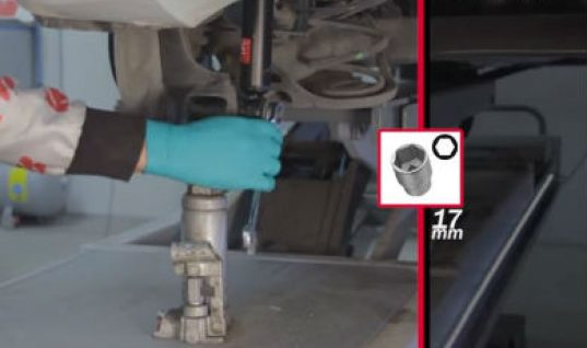 Video: how to fit Suzuki Swift rear shocks