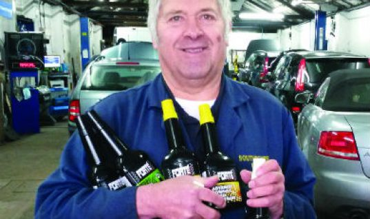 Southbourne Park Garage wins £250 worth of Forte Products