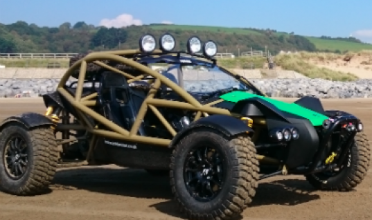 HELLA produces LED lighting system for new Ariel Nomad