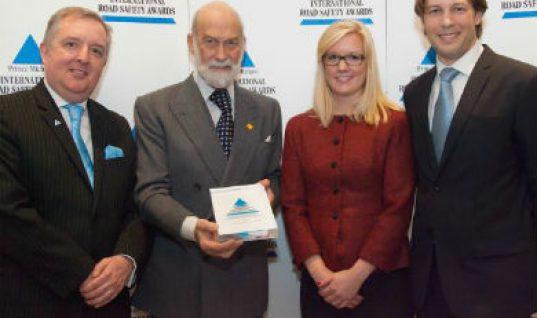 Philips Automotive Lighting receives International Road Safety award
