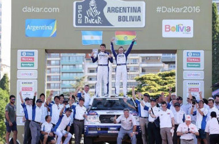 KYB and Toyota Auto Body continue Dakar success