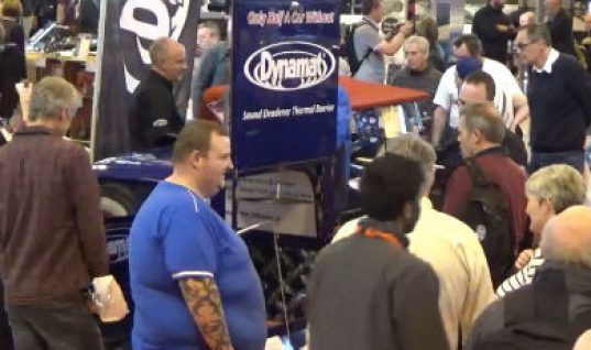 Video: Automotive sound dampening impresses show goers