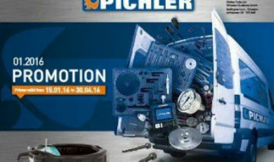 Pichler Tools launches new 2016 promotional flyer