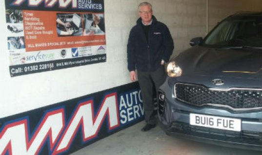Garage owner diversifies by selling new cars in 'virtual showroom'