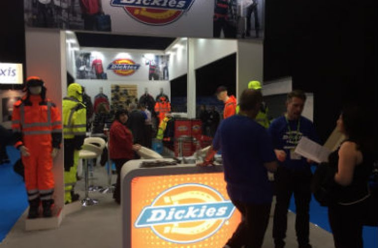 Dickies celebrates record sales at NMBS exhibition
