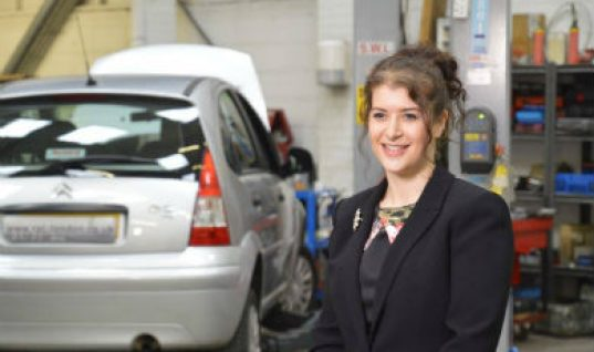 Road to success: Russell Automotive Centre