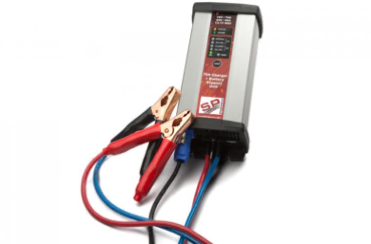 70 amp battery support unit from sp diagnostics garagewire. Black Bedroom Furniture Sets. Home Design Ideas