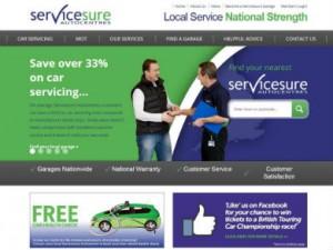 Servicesure updates website to combat increase in membership.