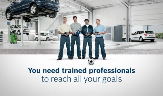 Video: Bosch Automotive promotes teamwork and skill