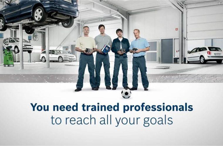 Video: Bosch Automotive promotes teamwork and skill - Garagewire