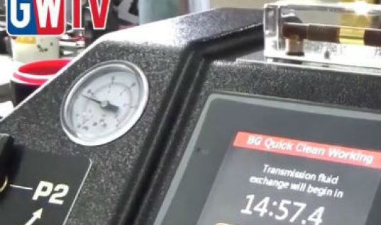 Video: Automatic transmission fluid exchange has never been easier