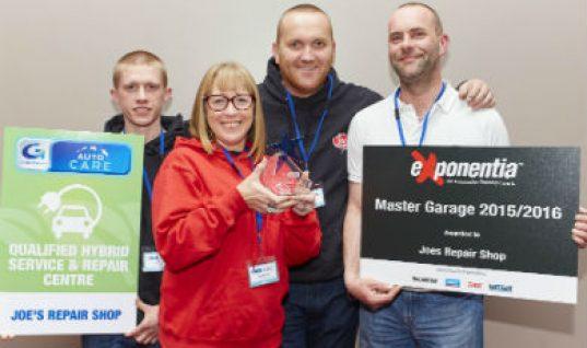 Surrey Garage wins runner up in 'Garage of the Year' award