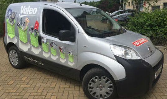 GSF adds Valeo branded van to its Glasgow fleet