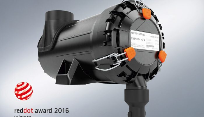 ENTARON HD 4 presented with 2016 Red Dot award