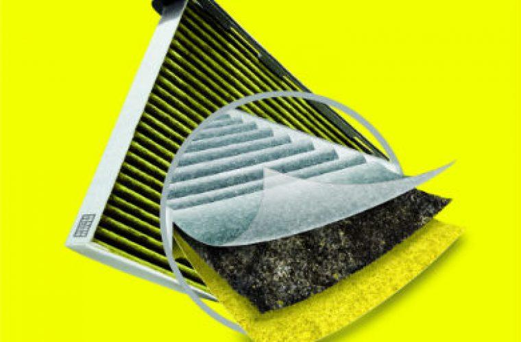 'Next gen' cabin filter blocks allergens, moulds and particulates