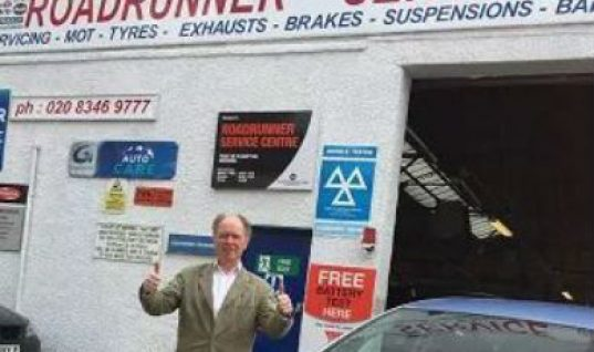 Motorist wins £100 in Approved Garages promotion