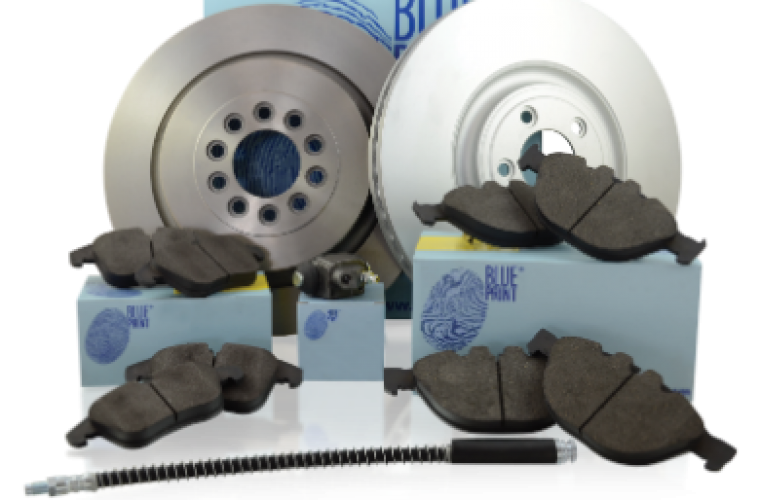 Blue Print high carbon brake discs meet new ECE R90 regulations
