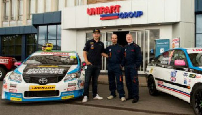 Racing champion revs up support for charity driving team