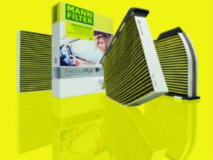 FreciousPlus cabin filters from MANN-FILTER.