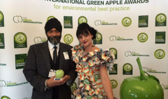 Autoelectro's 'green' work honoured at London ceremony