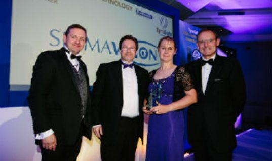 Sigmavision wins TyreSafe Innovation and Technology Award