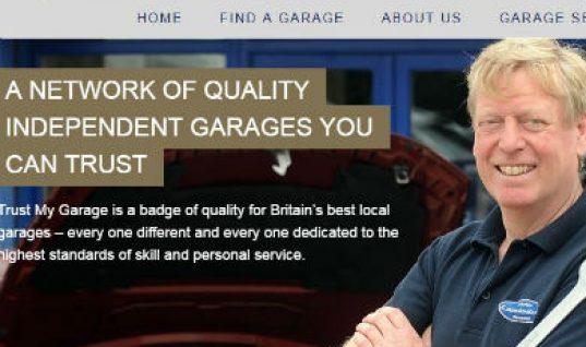 Trust My Garage gets new website