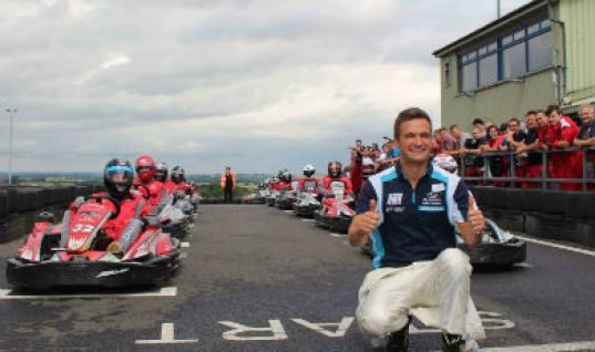 Double BTCC champion Turkington wows TerraClean karting event