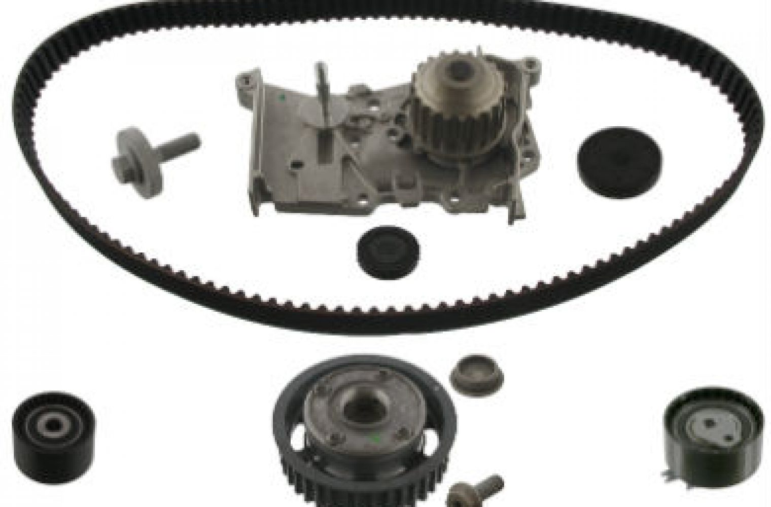 Renault 1 6 16V: Replace camshaft gear with timing belt